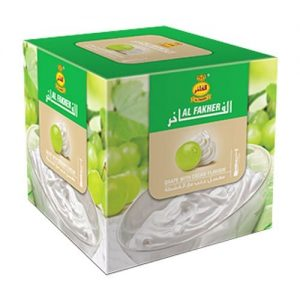 box of Al Fakher shisha grape with cream shisha flavor