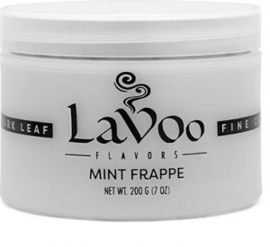 box of Lavoo Dark Mint shisha flavor
