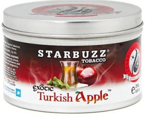 box of Starbuzz Turkish Apple shisha tobacco