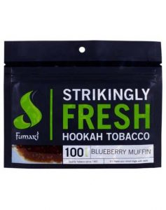 pouch of Fumari Blueberry Muffin shisha tobacco